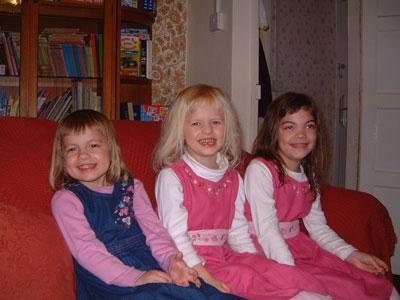 Timothea, Rebekah and Naomi
